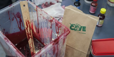 Weta Workshop Experience with Blood Making Demo