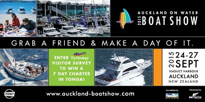 Auckland On Water Boat Show 2015