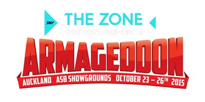 ARMAGEDDON EXPO 2015 - Twentieth Anniversary Party